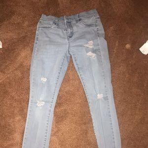 grey pacsun jeans